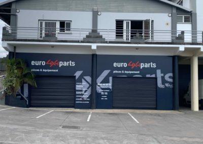 Agencement de façade  Commerciale