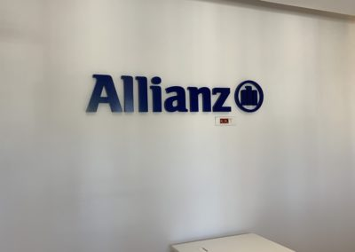 Lettrines Allianz blau bureau 2