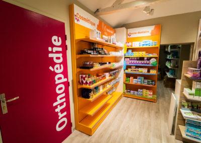 Signalétique -Plan Merch de Pharmacie