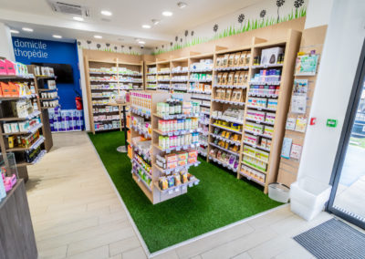 Pharmacie bois d'olive