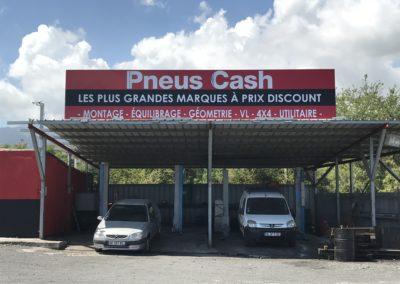 Panneau enseigne publicitaire -Bien-Vu Réunion