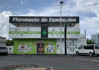 Pharmacie  de Cambuston-Bien-Vu Réunion